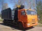 Автомобиль-ломовоз КАМАЗ 65115